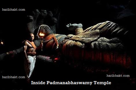 Inside Padmanabhaswamy temple treasures