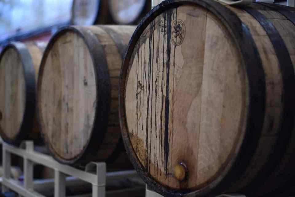 wine barrils