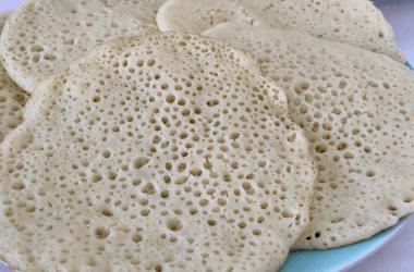 Beghrir moroccan pancakes