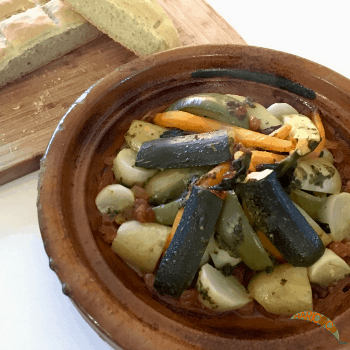 tagine after cooking