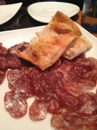 Bread with cured Meats