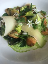 Gnocchi with Wild Garlic