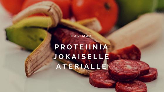 Proteiinia jokaiselle aterialle