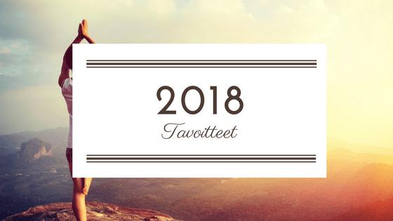 Vuoden 2018 tavoitteet