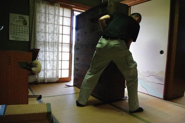 家具の移動はもちろん無料です。