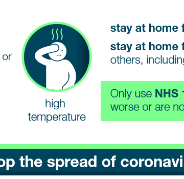 Public Health England offer advice for stopping coronavirus
