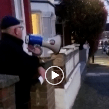 Haringey residents start chant for key workers