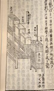 水時計の絵図