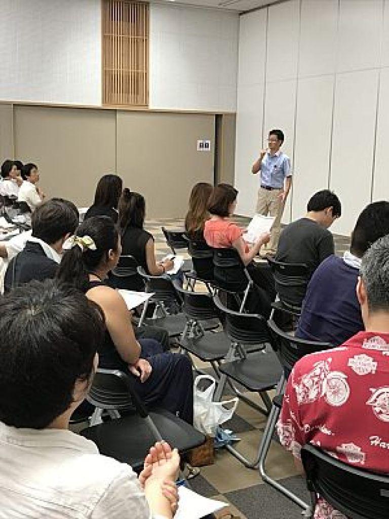 鍼灸フェスタでの鍼道五経会による特別講義