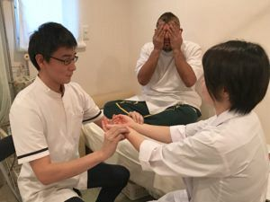 脈診の練習