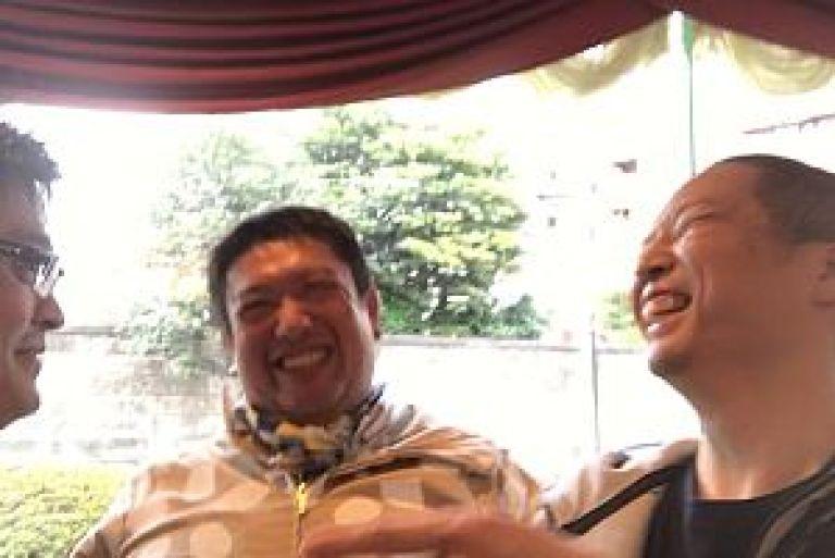 横山奨先生と川嶋総大先生と足立繁久