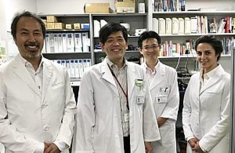 先進融合医学共同研究講座にて記念撮影