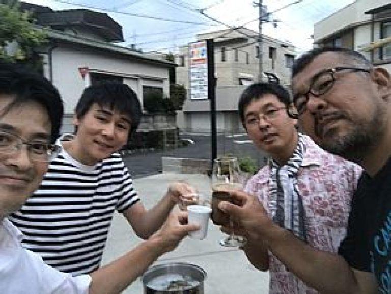 鍼道五経会、スッポンを食す会