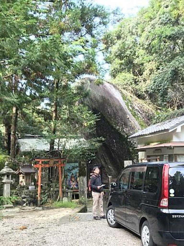 磐船神社の巨石