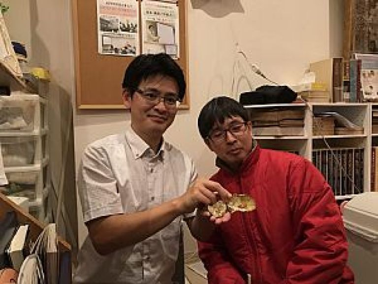 鍼道五経会の足立先生と金匱植物同好会の濱口先生