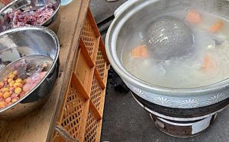 スッポンのスープ