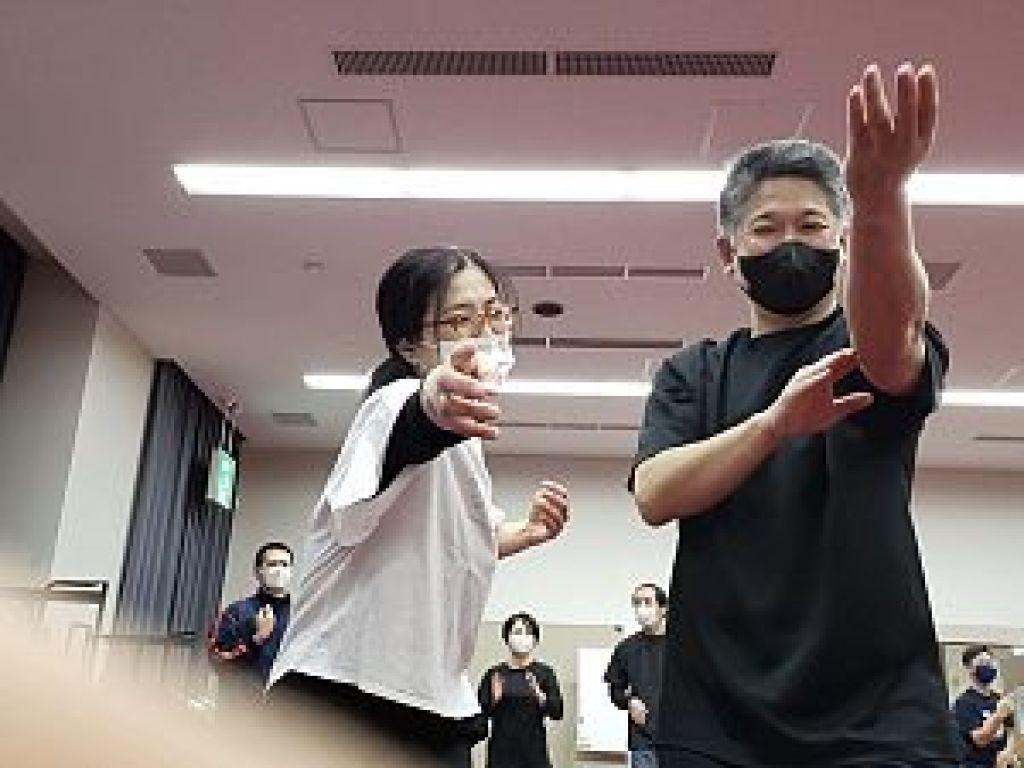通背拳のセミナーに鍼道五経会が参加