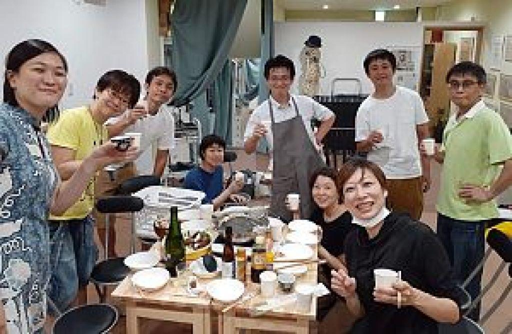 鍼道五経会でスッポン鍋