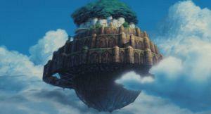 スタジオジブリの作品静止画『天空の城ラピュタ』より