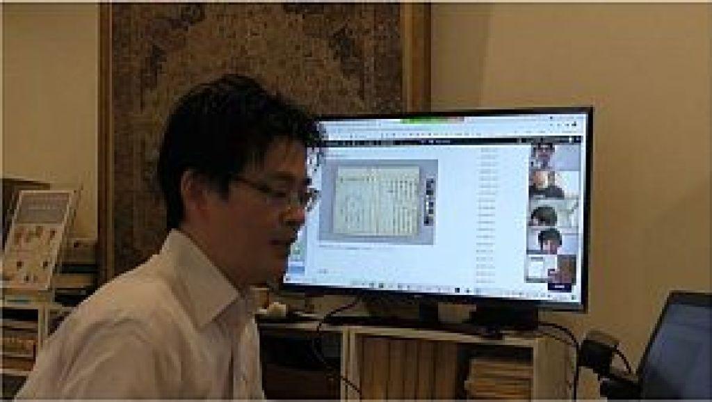 Zoom講座「経絡の正奇双修」にて夢分流腹診の勉強