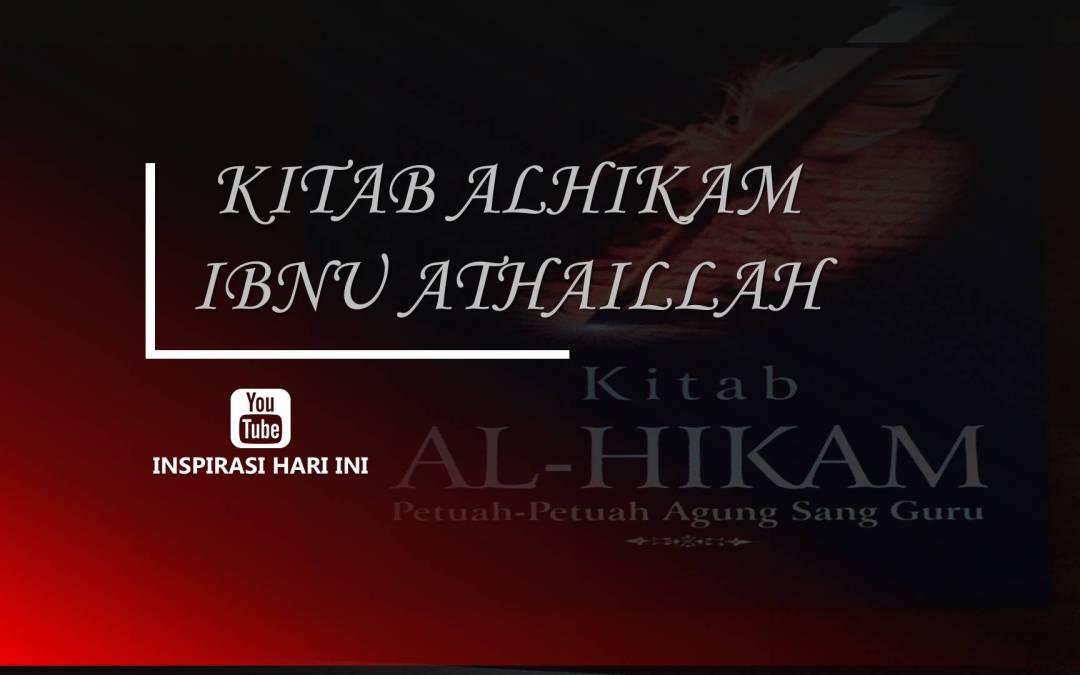 Terjemah Kitab Al Hikam Ibnu Atahillah Pasal 2