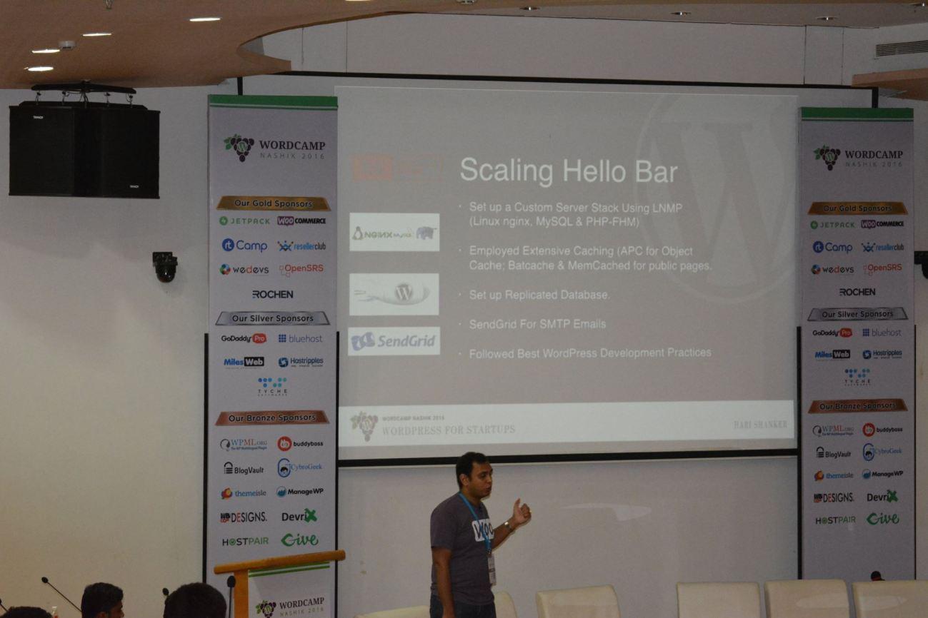 WordPress For Startups – My Talk At WordCamp Nashik 2016