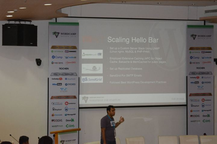 WordPress For Startups – My Talk At WordCamp Nashik 2016