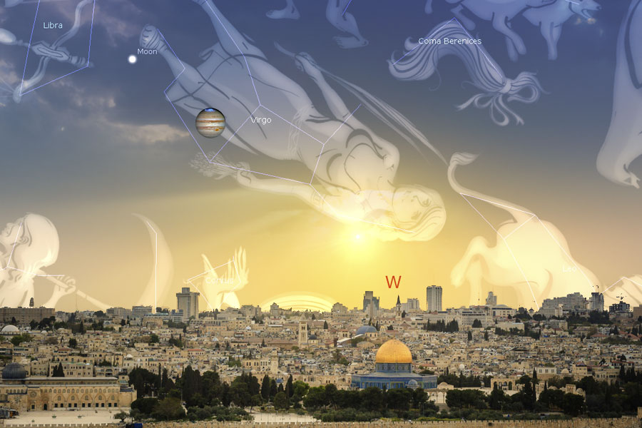 Tanda Wahyu 12: Rahim Virgo, Perpindahan Yupiter, dan Tanda Kelahiran Yang Akan Datang | 23 September 2017