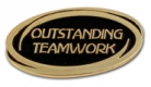213 8481 1 - Outstanding Teamwork Pin