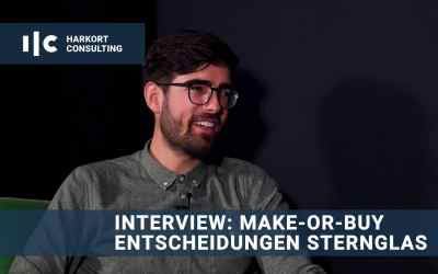 Interview: Make-or-Buy-Entscheidungen bei Sternglas