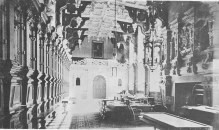 Great Hall in Catherine Sherwin Gregory's time, c.1890