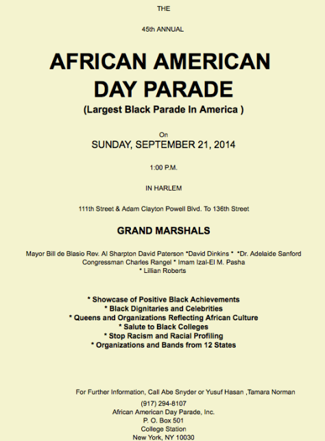 African Day Parade