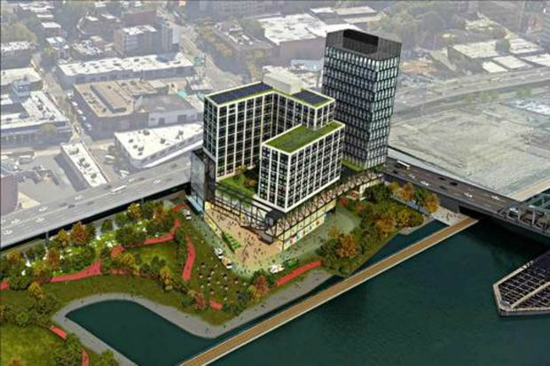 Bronx Point rendering