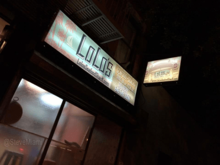 Exterior of LoLo's