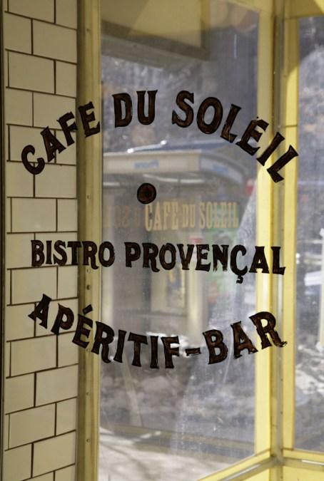 Cafe du Soleil Front Door