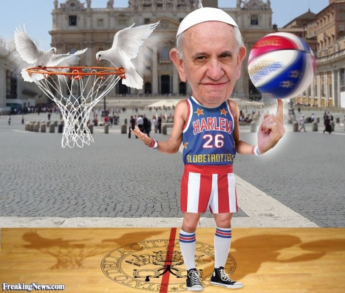 Pope-as-Harlem-Globetrotter--124339