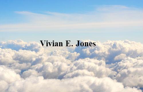 Vivian E. Jones