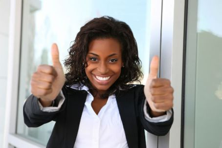 black-woman-giving-thumbs-up