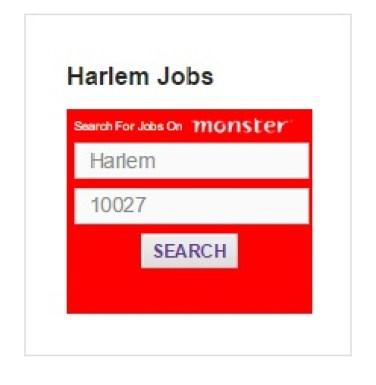 harlem jobs on monster widegt