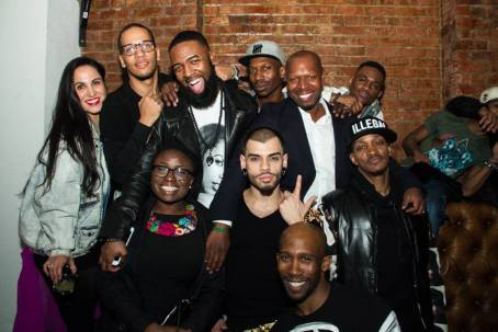 Jamel-Prodigy-1st-row-Zenabu-Abubakari-Justin-Monster-LaBeija-Twiggy-Prada-2nd-row-left-to-right-Shireen-Mizrahi-Jordan-Mizrahi-Jerome-Williams