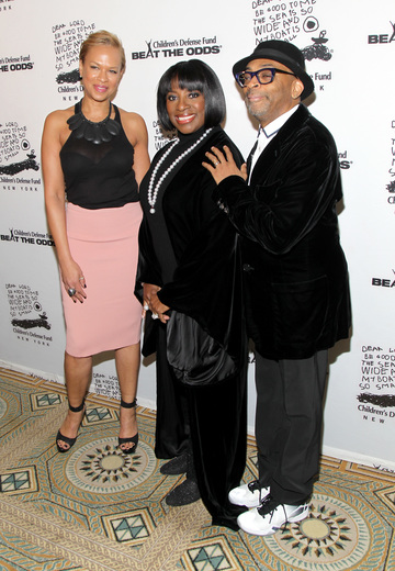 Tonya Lewis Lee, LaTanya Richardson Jackson and Spike Lee