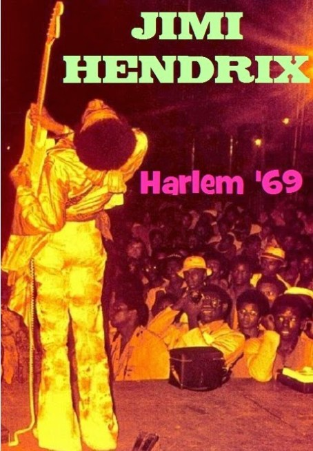 Jimi Hendrix Harlem New York 1969