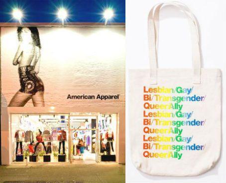 American-Apparel in harlem an lgbtqa