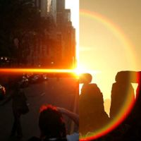 Check Out Manhattanhenge 2017 In Harlem