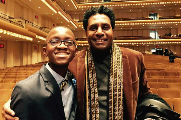 NY Philharmonic's Very Young Composer Isai Rabiu
