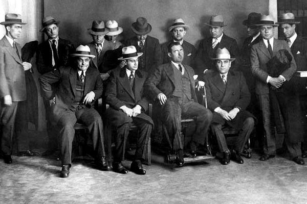 "116th Street Crew In ""Little Italy"" Harlem NY, 1890s –"