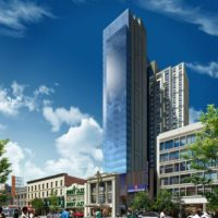 Groundbreaking Ceremony Held For Victoria Theater Tower In Harlem
