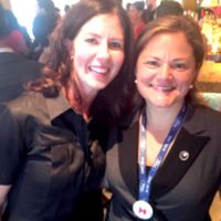 Harlem's Melissa Mark-Viverito And Elizabeth Crowley Celebrate Support For NY's Bravest
