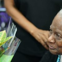 Two Of Harlem's Oldest Residents Are Celebrated At Harlem Week