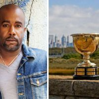 Grammy Award-Winner Darius Rucker To Sing National Anthem At Presidents Cup 2017